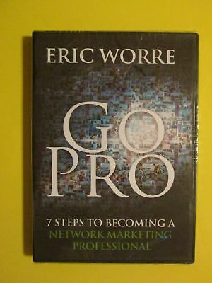 Go Pro 7 Steps to Becoming Network Marketing Professional CD Eric Worre NEW