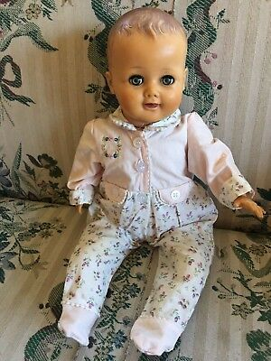 "Vintage American Character Doll 16"" Cloth Body"