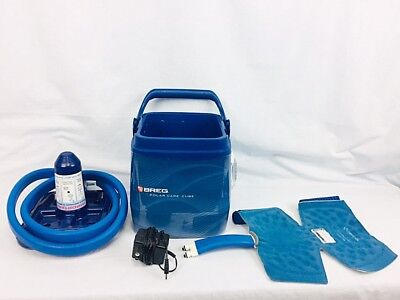 Breg Polar Care Cube Cold Therapy Unit W Knee Pad . Fully Tested! Clean