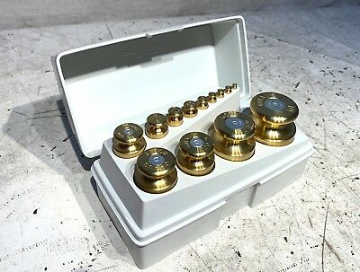 Ohaus 13pc Sto-A-Weigh Stainless Steel Calibration Weight Set!