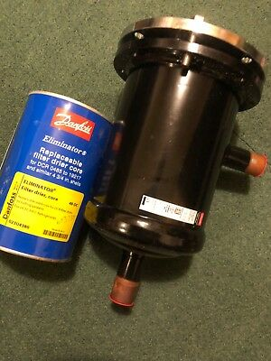 "DANFOSS DCR 0487S Filter Drier Shell (7/8"" ODF) Filter drier core included"