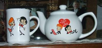 I Love Lucy Teapot And Cup