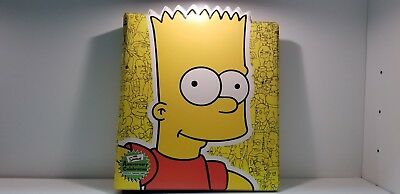 Simpsons Bart 10th Anniversary Collectors Trading Card Binder Album