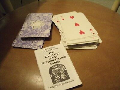 Buckland Gypsy Fortunetelling cards 1966