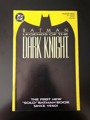 Batman Legends Of The Dark Knight # 1 Yellow Cover Variant (DC 1989)