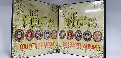LOT of 2 Munsters Series 2 Trading Card Binder Album by Dart Flipcards