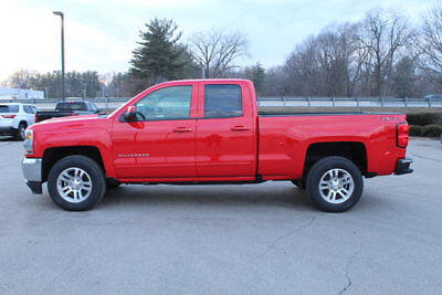 "2018 Chevrolet Silverado 1500 4WD Double Cab 143.5"" LT w/1LT 4WD Double Cab 143.5"" LT w/1LT New 4 dr Truck Automatic 5.3L 8 Cyl RED HOT"