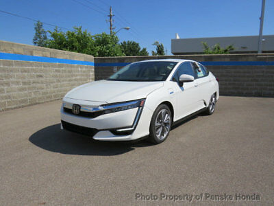 2018 Honda Clarity Plug-In Hybrid Sedan edan New 4 dr CVT 1.5L 4 Cyl Platinum White Pearl
