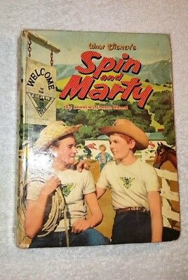 "Walt Disney's ""spin And Marty"" 1956 Hardback"