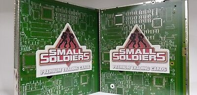 LOT of 2 Small Soldiers Premium Trading Card Album Binder