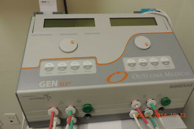 Outcome Medical EST Machine-Neogen SLV2-Four Channel Machine Card Operated