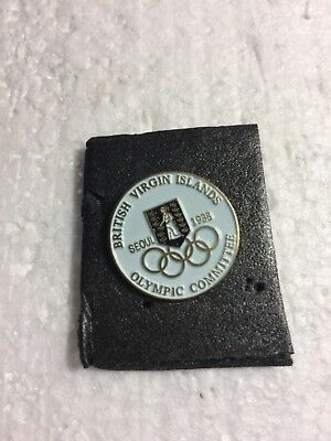Olympic pin Virgin Islands