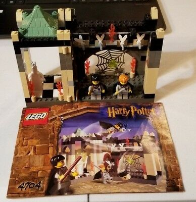 Lego Harry Potter The Chamber of the Winged Keys Complete Set 4704 Instructions