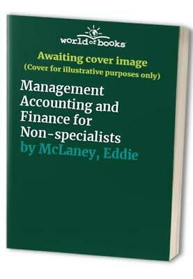 Management Accounting and Finance for Non-special... by McLaney, Eddie Paperback