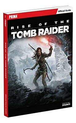 Rise of the Tomb Raider Standard Edition Guide by Prima Games Book The Cheap