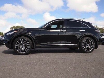 2017 Infiniti QX70 Limited 2017 Infiniti QX70 * LIMITED * Beautiful & Rare Loaded Limited Package