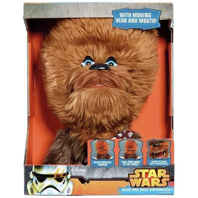 Star Wars Roar & Rage ChewBacca Talking Moving Plush Soft Toy Toys New Chewie