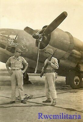 "Org. Nose Art Photo: PV-1 Bomber ""WINE, WOMEN & SO LONG""!!!"