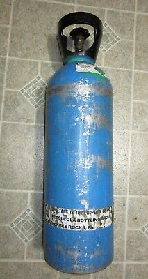 20 LB. LUXFER  CO2  ALUMINUM  TANK    USED  (empty for shipping)  Ready to use!
