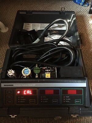 Bacharach Model 300 Combustion Analyzer / Tested and Working / OR BUY FOR PARTS
