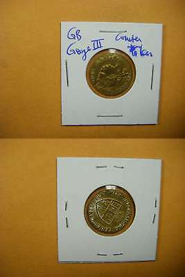 7142 GB George III counter Token