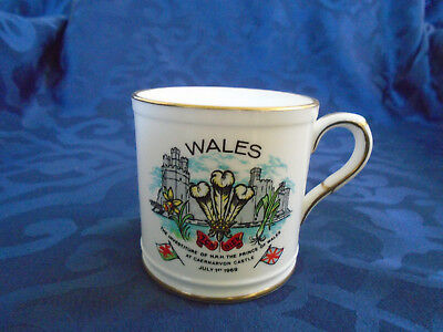 Mug commemorating Prince Charles' Investiture as Prince of Wales