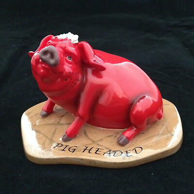 Pig Headed Pig Invasion Red Pig Figurine Character Collectibles China