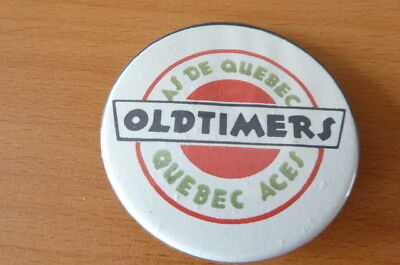 As De Quebec. Quebec Aces Oldtimers Ice Hockey Badge