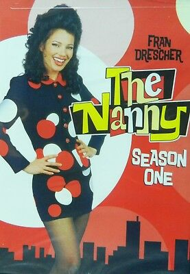 The NANNY The COMPLETE FIRST SEASON All 22 Episodes 2-Disc DVD Set SEALED
