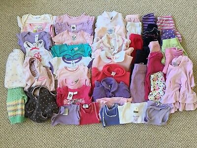 Baby Girls 000 Bulk Mixed Lot Target, Sprout, Carter's, Dymples, Bonds, Baby