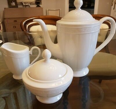Villeroy Boch coffee set CAMEO WEISS bone China