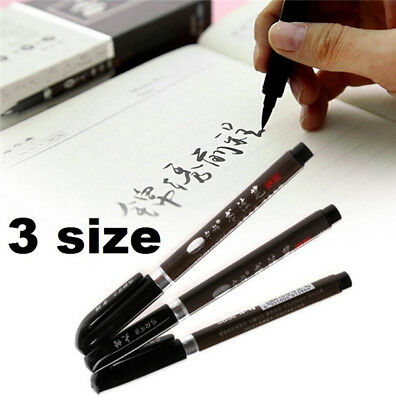 X3 Chinese Pen Japanese Calligraphy Writing Art Script Painting Tool Brush Set ♫