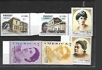 69820 / Joint Issue ** MNH America Chile Paraguay