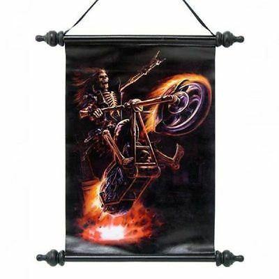 """Anne Stokes Scroll """"hell Rider Scroll"""""""
