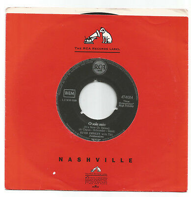 """Elvis Presley  / O Sole Mio ( It's Now Or Never) //   7"""""""