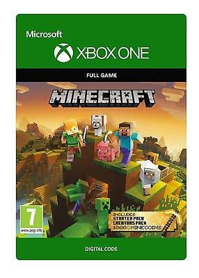 Minecraft Master Collection Full Game + DLC packs + 1000 Coins [Xbox One]