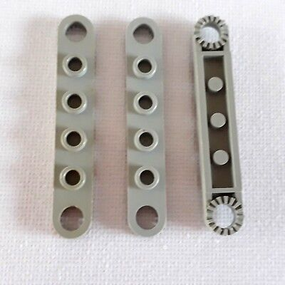 LEGO 4263 Technic Plate 1 x 4 with Toothed Ends x2