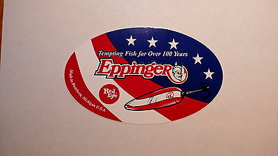 NEW Eppinger DARE DEVIL America's Fishing Lures DECAL!!