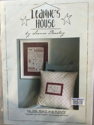 Leanne's House by Leanne Beasley Redwork Embroidery Pattern