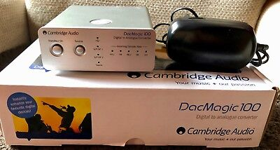 Cambridge Audio DacMagic 100 silber DA-Wandler in OVP!