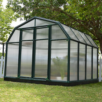 Rion Greenhouses Hobby Gardener 2 Twin Wall 8 Ft. W x 8 Ft. D Greenhouse