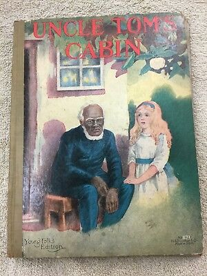 Early Black Americana Uncle Tom's Cabin book by Harriet Beecher Stowe
