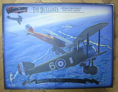 The Duellists, Sopwith F.1 Camel+LVG C.VI, Wingnutwings 32803, 1:32
