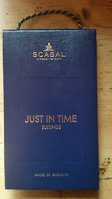 SCABAL Design SAMPLEBOOK StoffKatalog Stoffmusterbuch Bunch 2301 SUITINGS
