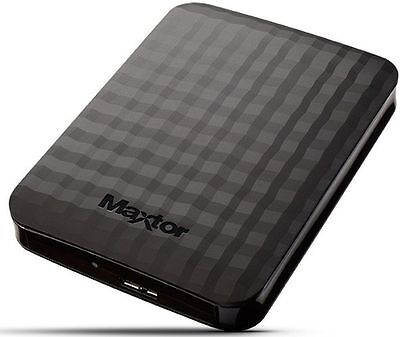 "Hard Disk Esterno 1Tb 2,5"" Usb 3.0 Super Speed Autoalimentato Maxtor Hd 1000Gb"