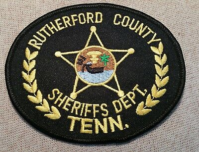 TN Rutherford County Tennessee Sheriff Patch