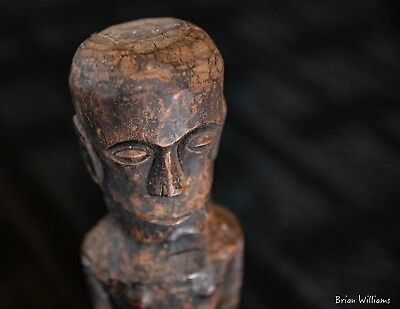 Very fine Batak Pagar protection figure from Sumatra