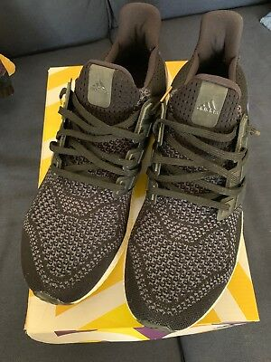 0a3e6bcb399 ADIDAS ULTRA BOOST 1.0 OG Black Purple Gold Size Used Worn Size 12 ...