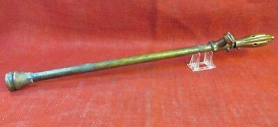 "Antique Garden Water Wand, Solid Brass, 27"" Long, Works!, Early 1900s"