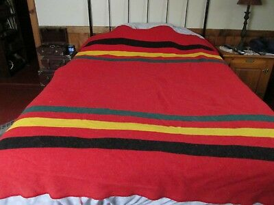 "VTG PENDLETON  BLANKET 83"" by 68"""